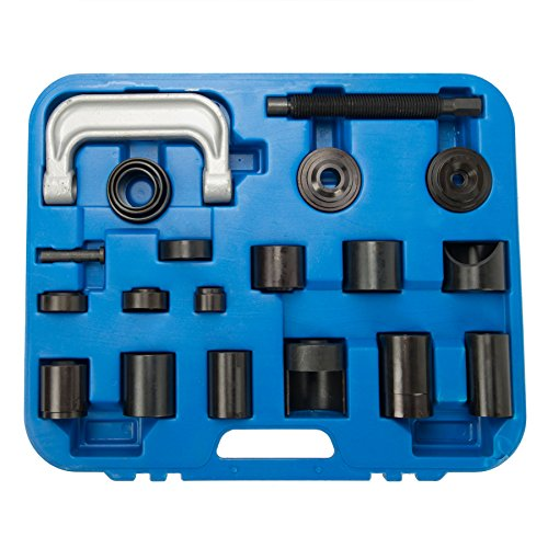 OrionMotorTech Universal Ball Joint Service Kit, Ball-Joint Press U-Joint Puller Removal Separator, Upper & Lower Control Arm Bushing Tool