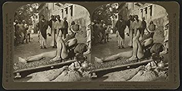 Historicalfindings Photo Fakir On Bed Of Nails Spikes Religious