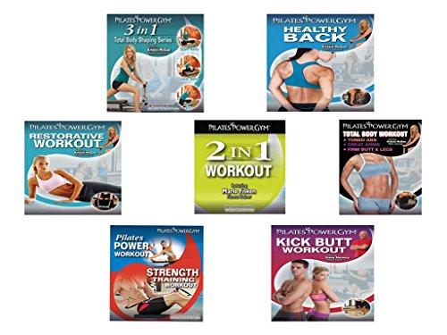 Pilates Power Gym Total Fitness 7 DVD Set by Pilates Power Gym