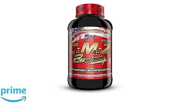 calcio - magnesio - zinc 60 capsulas: Amazon.es: Salud y ...