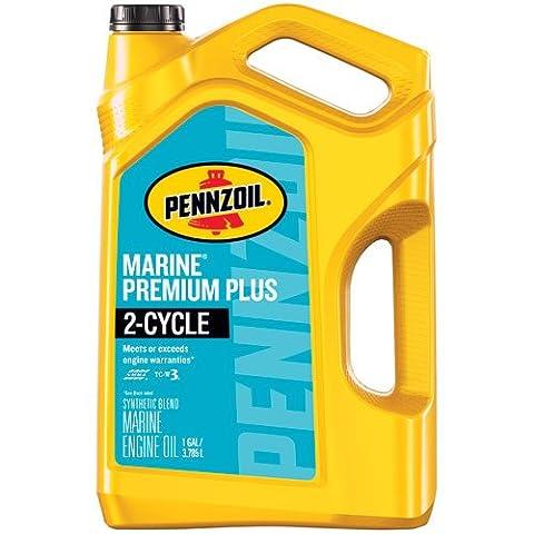 Pennzoil 550045220 1 gallon Marine Premium Plus (Outboard 2 Cycle 1 gal. jug) - Suzuki Outboard Engine