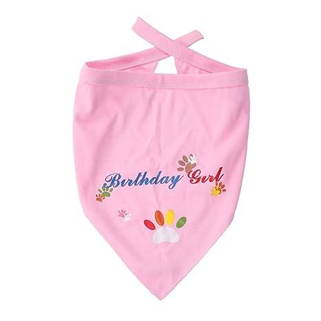 POPETPOP Babero de Algodón Absorbentes para Cumpleaños de Bebé Niña ...