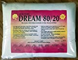 Quilter's Dream 80/20, White, Select Loft Batting - King Size 122''X120''