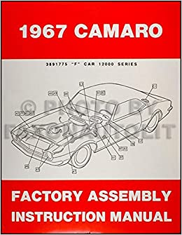 diagram 1967 camaro factory embly manual reprint including rs ss z28      on 68 camaro