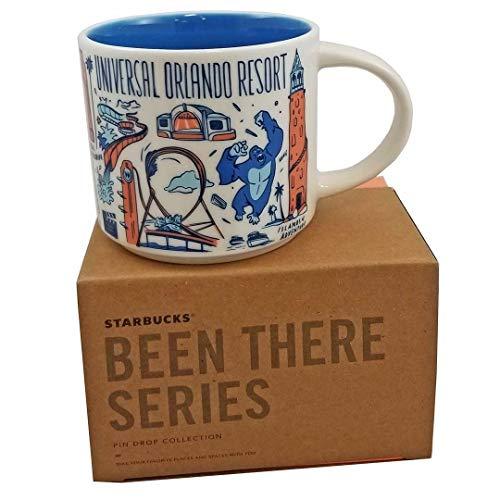Starbucks UNIVERSAL ORLANDO RESORT BEEN THERE SERIES ACROSS THE GLOBE COLLECTION Ceramic Coffee Cup, 14 Fl Oz (Starbucks Mugs Orlando)