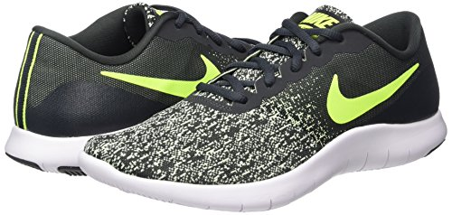 Amazon.com | Nike Mens Flex Contact Running Shoe Anthracite/Volt-Barely Volt-White 9.5 | Fashion Sneakers