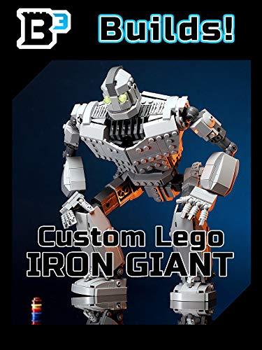 (B3 Builds! Custom Lego Iron)