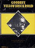 Goodbye Yellow Brick Road Elton John Sheet Music
