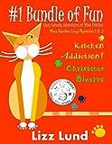 #1 Bundle of Fun – Humorous Cozy Mysteries – Funny Adventures of Mina Kitchen – with Recipes: Kitchen Addiction! + Christmas Bizarre – Books 1 + 2 (Mina Kitchen Cozy Mystery Series – Bundle)