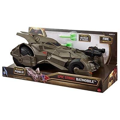 Batman v Superman: Dawn of Justice Epic Strike Batmobile Vehicle: Toys & Games