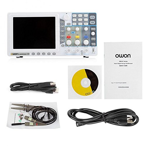 OWON 70Mhz Oscilloscope SDS7072EV 1G/s large 8'' LCD LAN 3 Years Warranty by OWON (Image #5)