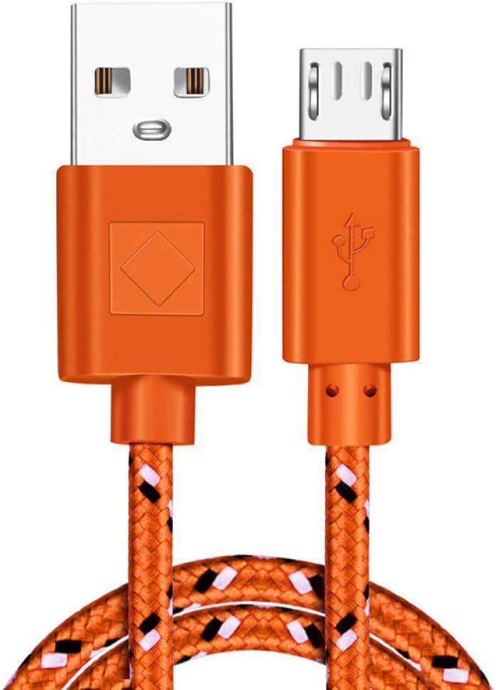3m pour Samsung HTC Huawei Xiaomi Tablette C/âbles de t/él/éphone USB TOUSHI C/âble du Chargeur C/âble de tressage en Nylon Micro de c/âble de Chargeur dUSB de synchronisation de donn/ées 1m 2m