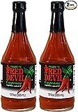 Trappey's ( 2 PACK ) Red Devil Sauce Hot 12 fl oz Each