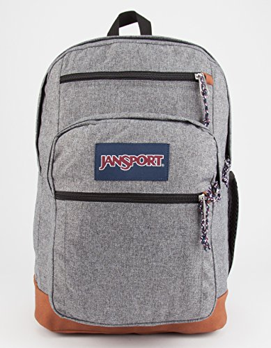 JanSport Unisex Cool Student Grey Letterman Poly Backpack