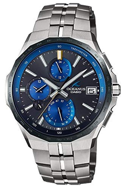 CASIO OCEANUS 블루투스 전파 시계 OCW-S5000E-1AJF