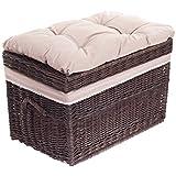 banc banquette coffre de rangement m92 rotin kubu gris cuisine maison. Black Bedroom Furniture Sets. Home Design Ideas