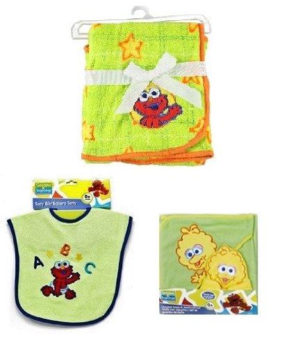 Sesame Beginnings Baby Elmo   Big Bird Fleece Blanket 7c1cf9d0c