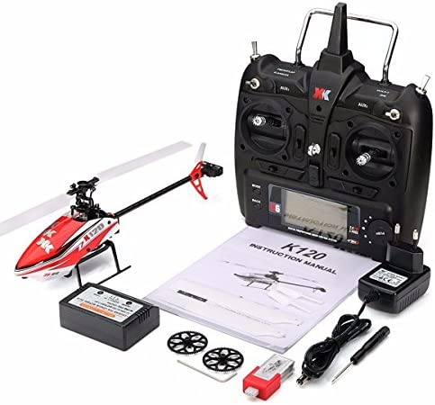 FairOnly XK K120 Shuttle 6CH - Helicóptero teledirigido (Sistema ...