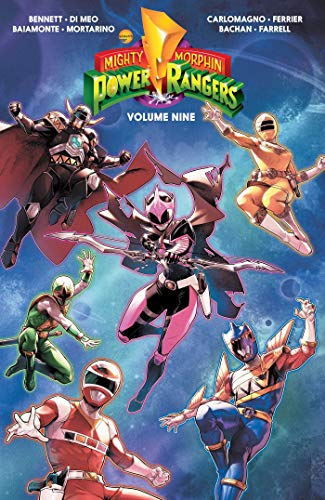 Pdf Graphic Novels Mighty Morphin Power Rangers Vol. 9