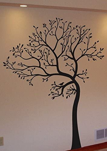 Large 6ft Tree Wall Decal Deco Art Sticker Mural DARK BROWN