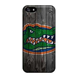 Protector Hard Cell-phone Cases For Iphone 5/5s (WvM17023sCkK) Support Personal Customs Attractive Florida Gators Pattern