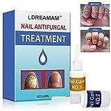Nail Fungus Treatment,Fungus Stop,Nail Antifungal Treatment,Anti-Fungal Solution,Toenail Fungus Treatment,Antifungal Fungus Killer Easy and fast Treatment Hand/Feet (2 bottles)
