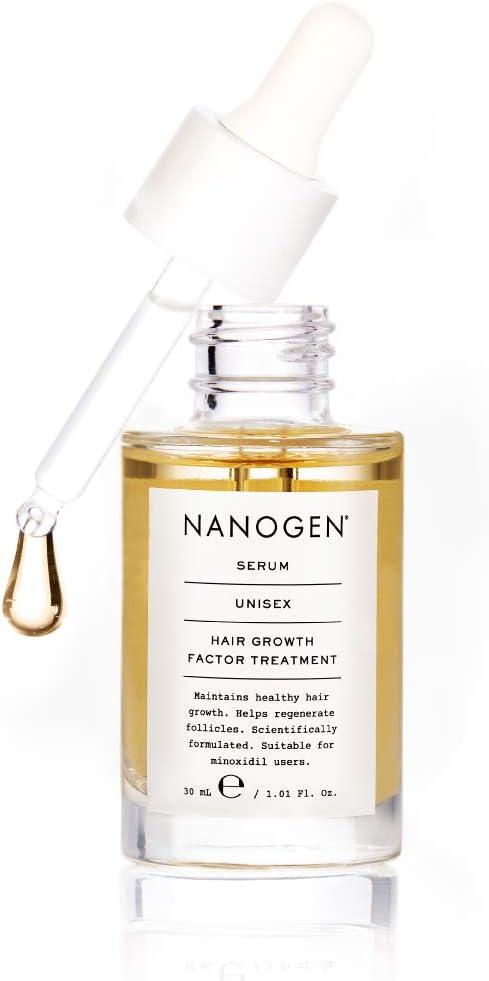 Nanogen Growth Factor - Suero de tratamiento espesante, 30 ml: Amazon.es: Belleza