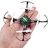 Mini RC Aircraft - JJRC H8 Mini 2.4G 4CH 6 Axis RTF RC Quadcopter Led Night Lights CF Mode