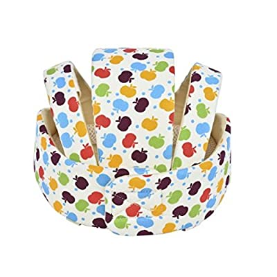 Pep-Baby Infant Baby Toddler Safety Helmet Headguard Hat Adjustable Safety Protective Harnesses Cap