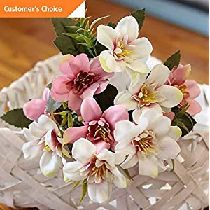 Hebel 1 Bouquet Beautiful Artificial Flower Fake Plant Home Office Shop Decor US | Model ARTFCL - 639 | 49