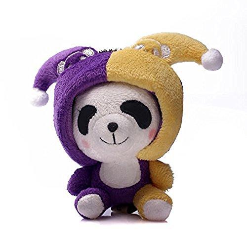 Grimbatol 10Cm Cute 12 Constellations Panda Plush Toy Soft Stuffed Animal Doll (Gemini)