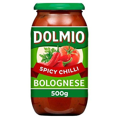 Dolmio boloñesa picante de los chiles Pasta Sauce 500g