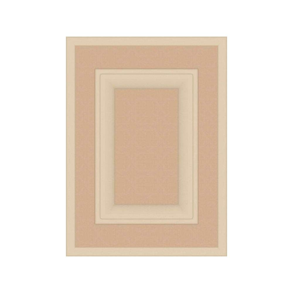 Square with Raised Panel 15H x 11W Kendor Unfinished MDF Cabinet Door