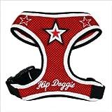 Hip Doggie Red Super Star Mesh Harness Vest, X-Large, My Pet Supplies