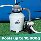 GAME SandPRO 50D Series, Complete 0.5HP Replacement Pool Sand Filter Unit, Designed for Intex & Bestway Pools, High-Performance Above-Ground Pool Vacuum, Energy Efficient, Easy to Operate