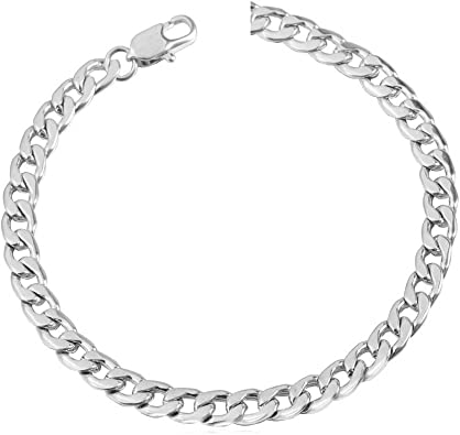 Mia Diamonds 14k Rose Gold .5 mm Cable Rope Chain Necklace