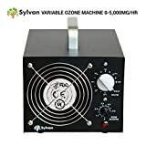 Sylvan Variable Ozone Generator 5000mg/hr Adjustable Ozone Air Purifier Output Machine Ozonator