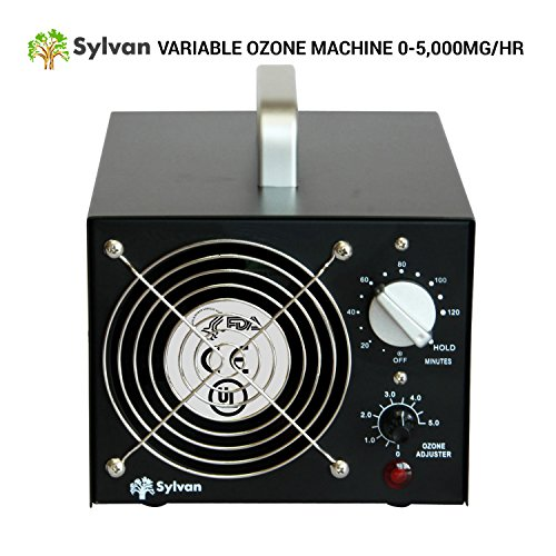 Sylvan Variable Ozone Generator 5000mg/hr Adjustable Ozone Air Purifier Output Prime mover Ozonator
