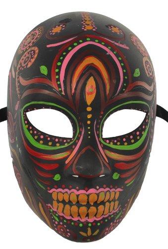 RedSkyTrader Men's Dia De Los Muertos Mask