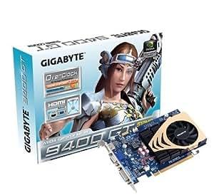 Gigabyte GV-N94TOC-512I GeForce 9400 GT GDDR2 - Tarjeta gráfica (GeForce 9400 GT, 2560 x 1600 Pixeles, GDDR2, 128 bit, PCI Express 2.0, Activo)