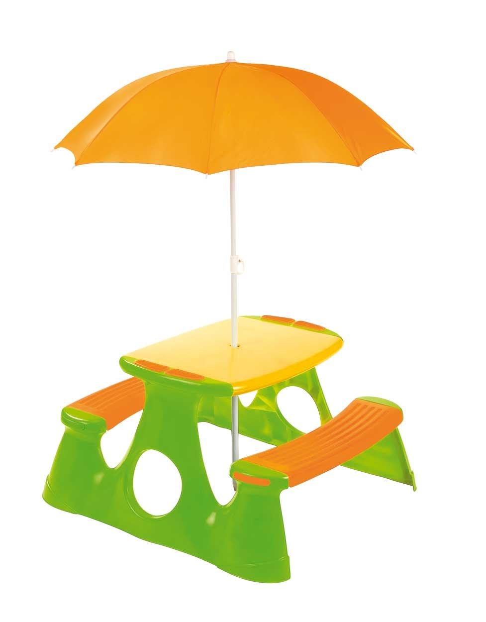 Paradiso giocattoli per bambini tavolo da picnic con ombrellone Paradiso Toys