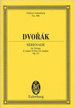 ドヴォルジャーク: 弦楽セレナーデ ホ長調 Op.22/オイレンブルグ社/小型スコア