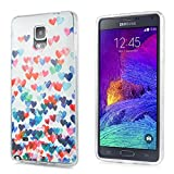 Best MVP CASE Case For Galaxy Note 4s - Galaxy Note 4 Case, Ultra Slim Thin Hearts Review