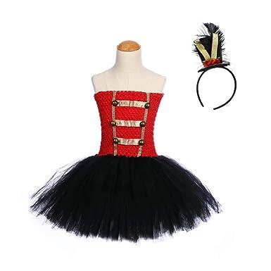 Amosfun Disfraz de cascanueces para niñas con diadema fiesta de ...