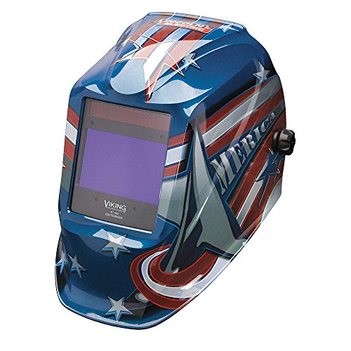 Welding Helmet, All American - Lens Graphic