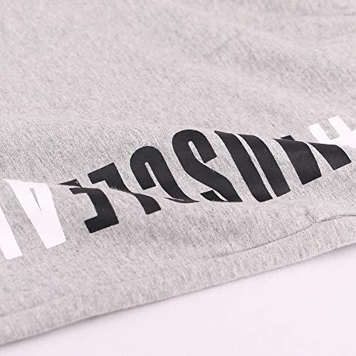 Culturismo 5 Spugna grey Gym Gamba Uomo 7 Ma Interno Pantaloncini Cotone Inseam Di Musclealive New 8vm0nwNO