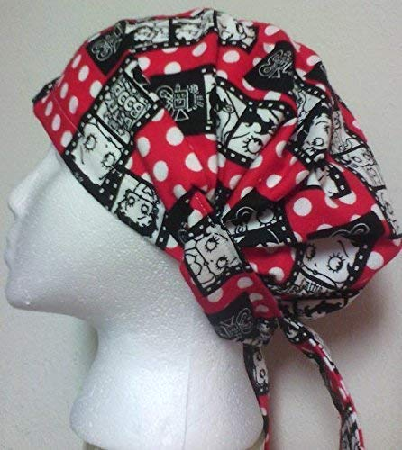 Betty Boop Slip-on Hat Cap Headscarf Head cover Hair wrap Chemo Cancer ()