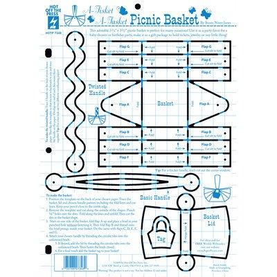 picnic basket template set of 4 amazon co uk kitchen home