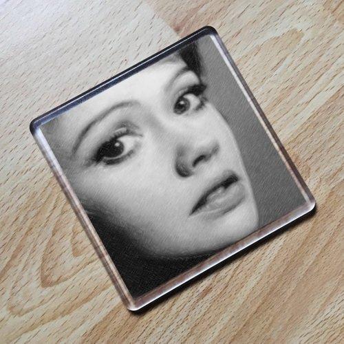 HAYLEY MILLS - Original Art Coaster #js001