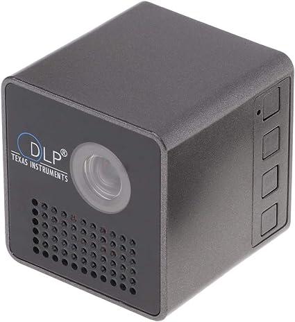 P Prettyia Mini 1080P LED DLP Proyector Portàtil Casa Pelicula ...